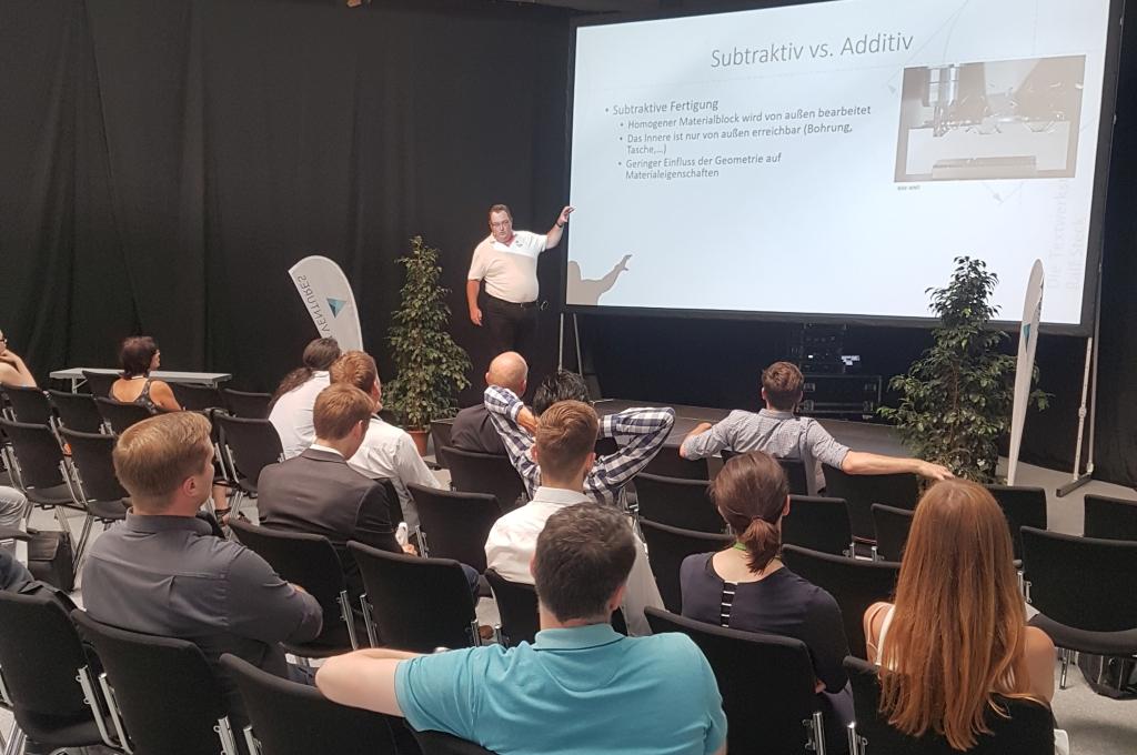 Rapid Tech 2019: Vortrag zu 3D-Druck und CAD.
