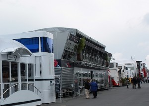 Die Red Bull Enery Station am Nürburgring 2009